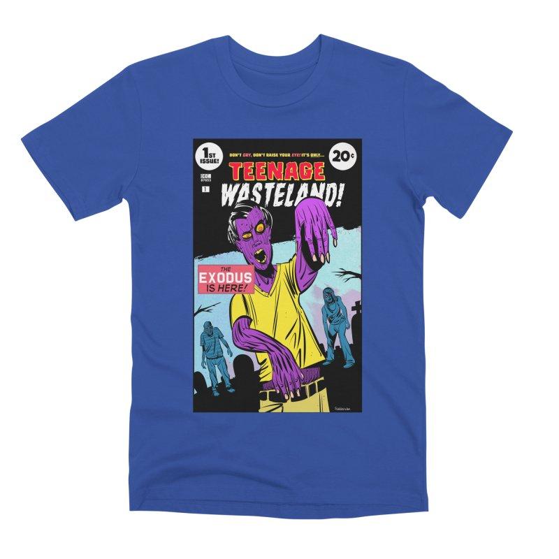 Teenage Wasteland Men's Premium T-Shirt by Krishna Designs