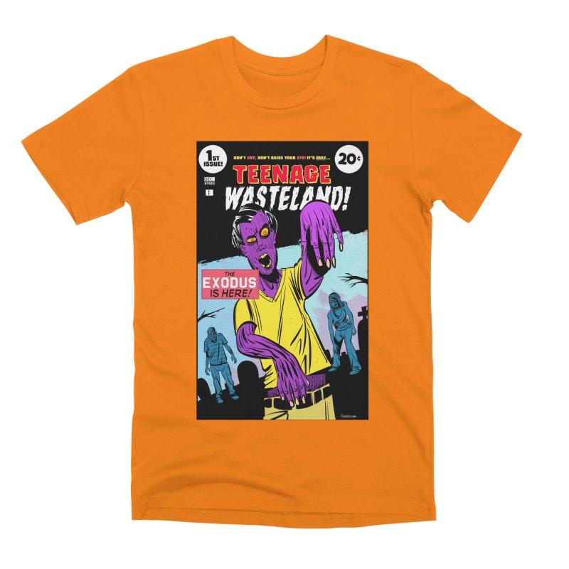 Teenage Wasteland Men's T-Shirt by Krishna Designs