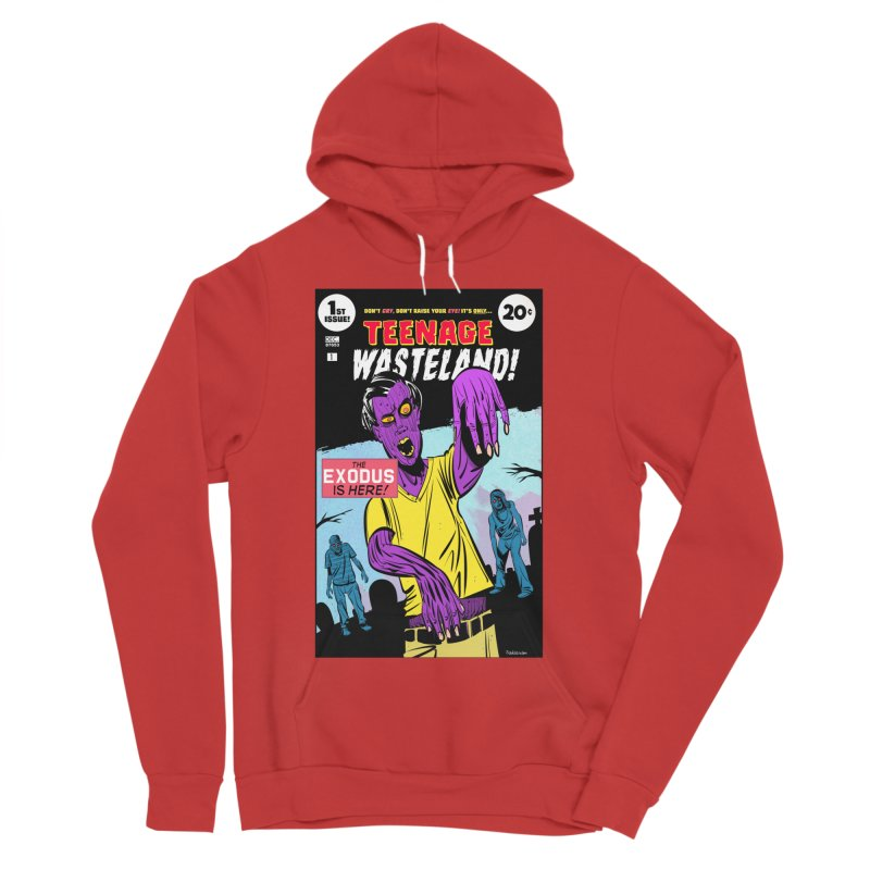 Teenage Wasteland Women's Pullover Hoody by Krishna Designs