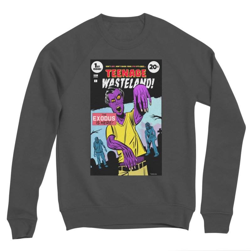 Teenage Wasteland Men's Sweatshirt by Krishna Designs