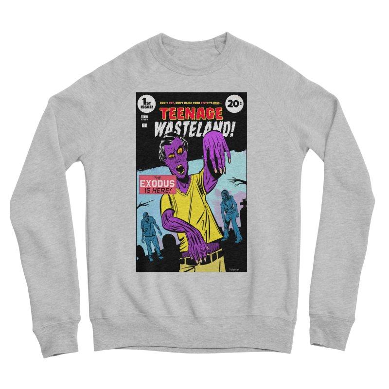 Teenage Wasteland Women's Sponge Fleece Sweatshirt by Krishna Designs