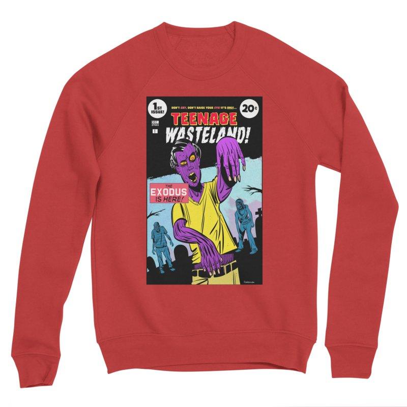 Teenage Wasteland Men's Sponge Fleece Sweatshirt by Krishna Designs