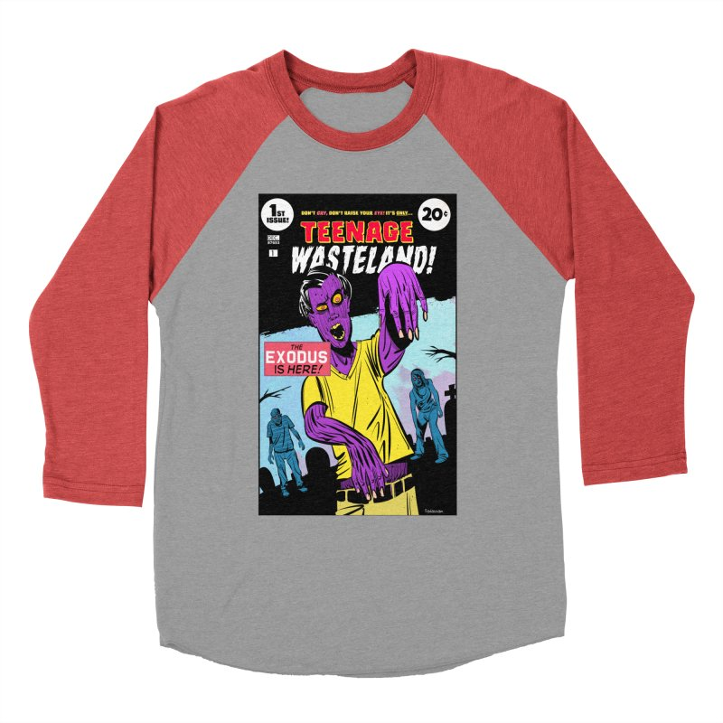 Teenage Wasteland Men's Longsleeve T-Shirt by Krishna Designs