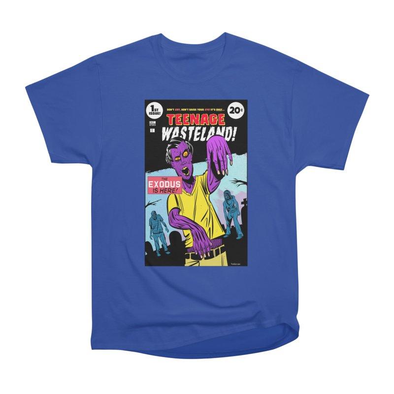 Teenage Wasteland Men's Heavyweight T-Shirt by Krishna Designs
