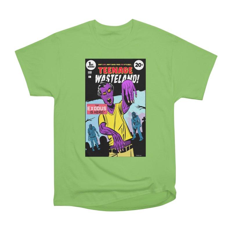 Teenage Wasteland Women's Heavyweight Unisex T-Shirt by Krishna Designs