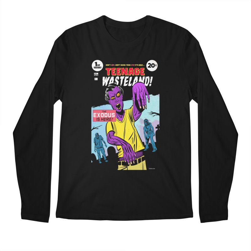 Teenage Wasteland Men's Longsleeve T-Shirt by Krishna Designs