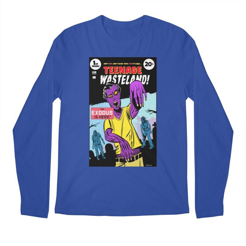 Teenage Wasteland Men's Regular Longsleeve T-Shirt by Krishna Designs