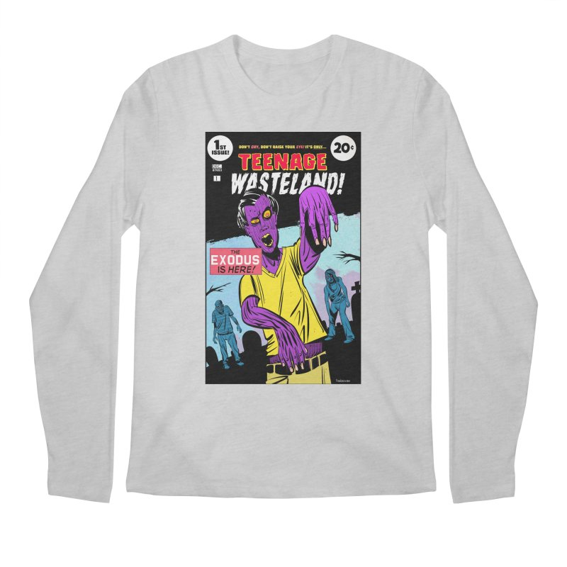 Teenage Wasteland Men's Regular Longsleeve T-Shirt by Krishna Designs