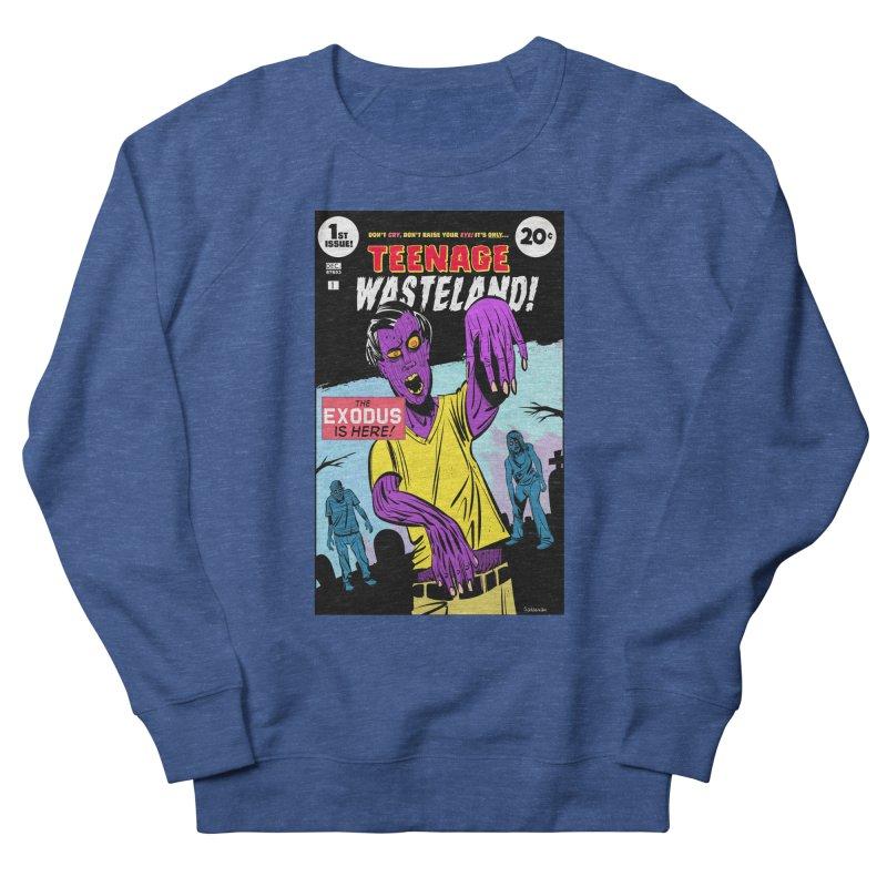 Teenage Wasteland Women's French Terry Sweatshirt by Krishna Designs