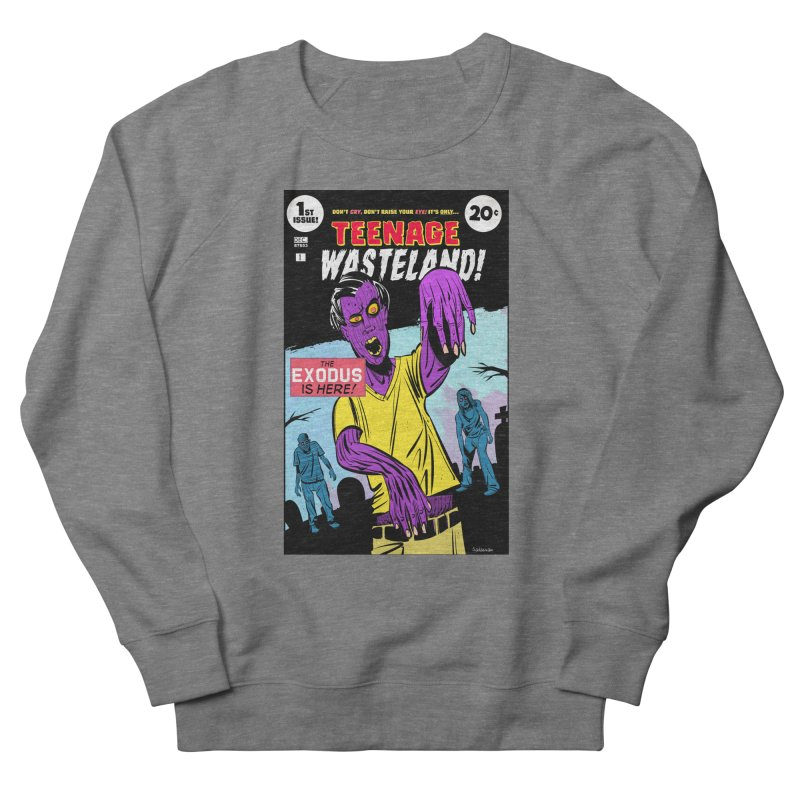 Teenage Wasteland Men's Sweatshirt by Krishna Designs
