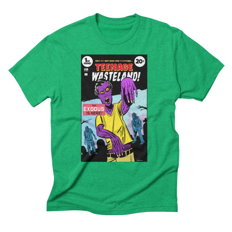 Teenage Wasteland Men's Triblend T-Shirt by Krishna Designs