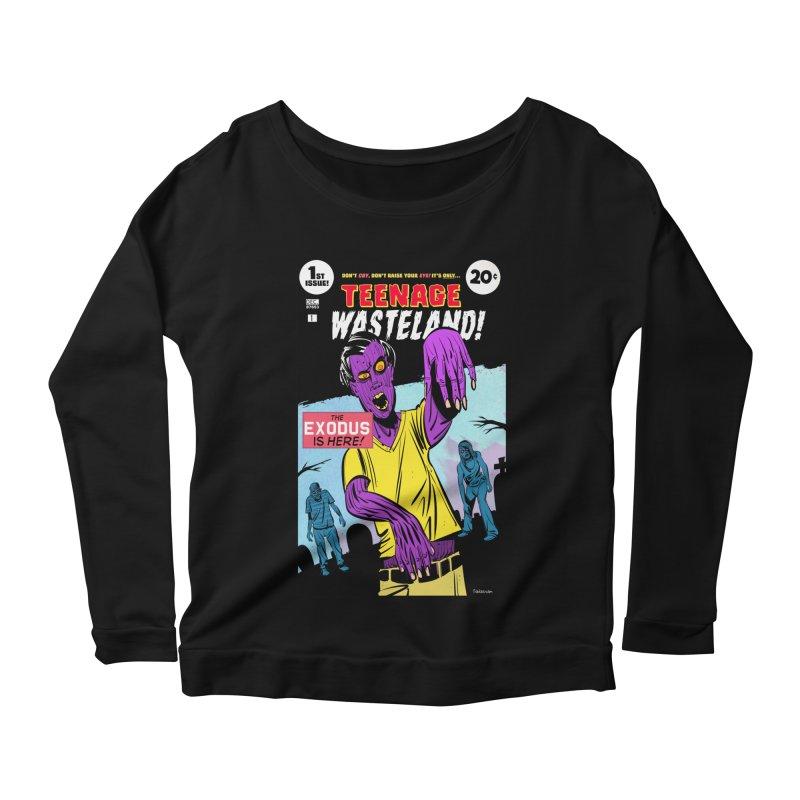 Teenage Wasteland Women's Longsleeve T-Shirt by Krishna Designs