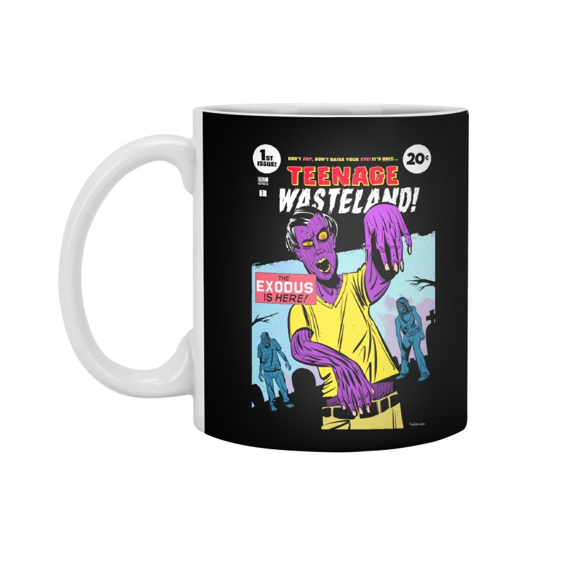 Teenage Wasteland Accessories Standard Mug by Krishna Designs