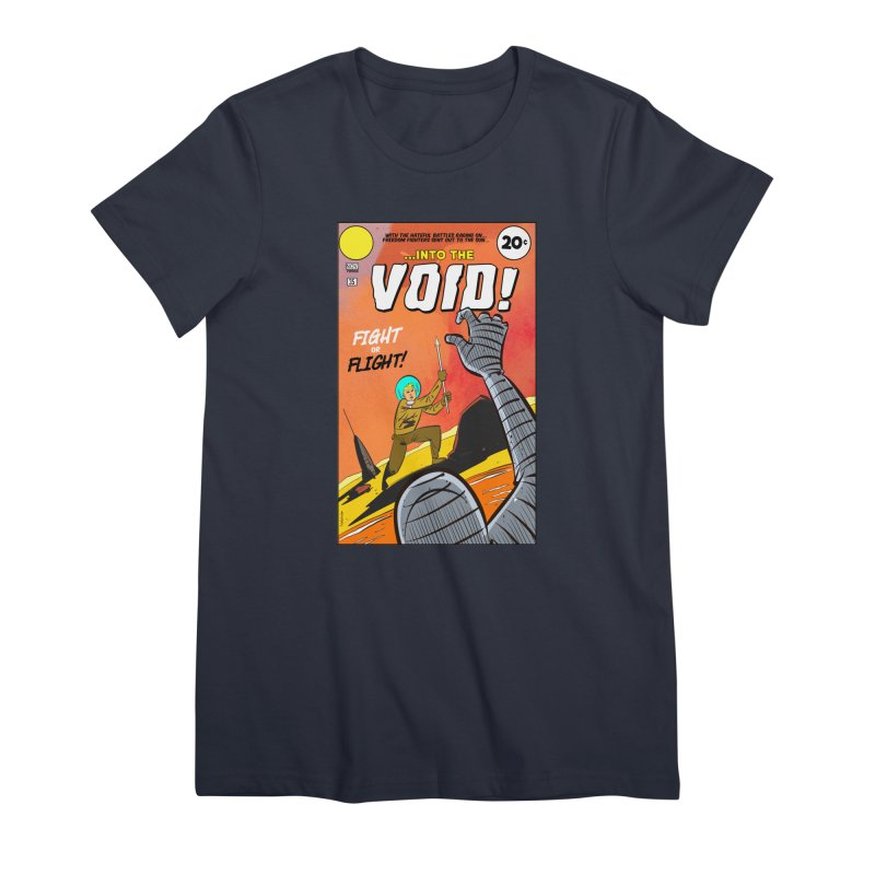 Into the Void Women's Premium T-Shirt by Krishna Designs