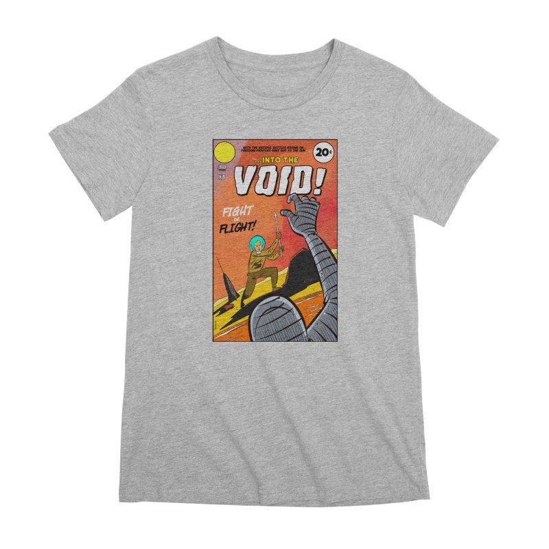 Into the Void Women's Premium T-Shirt by Krishna Designs