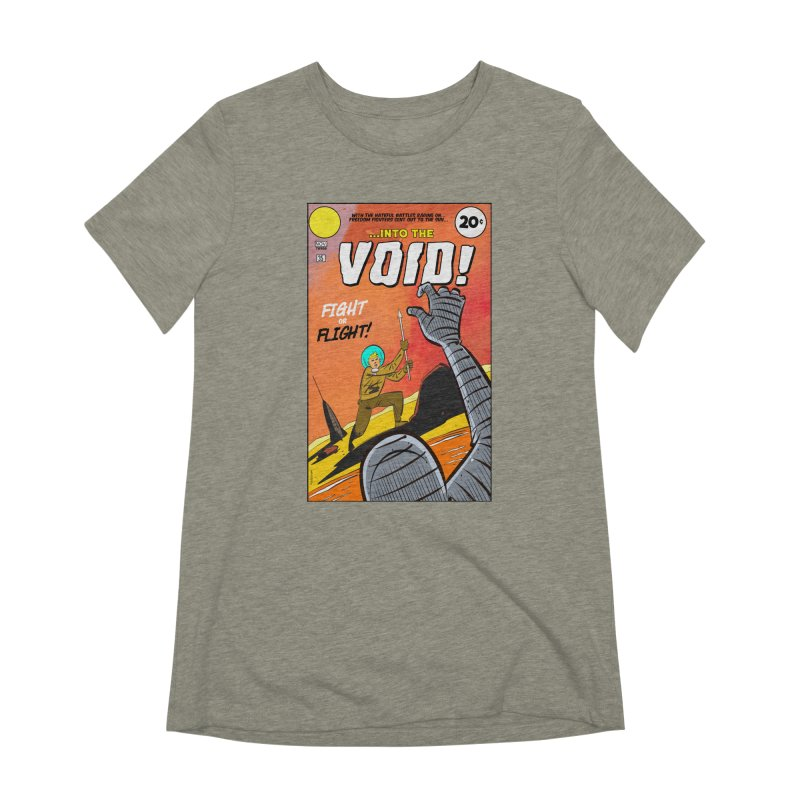 Into the Void Women's Extra Soft T-Shirt by Krishna Designs