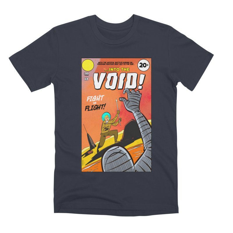 Into the Void Men's Premium T-Shirt by Krishna Designs