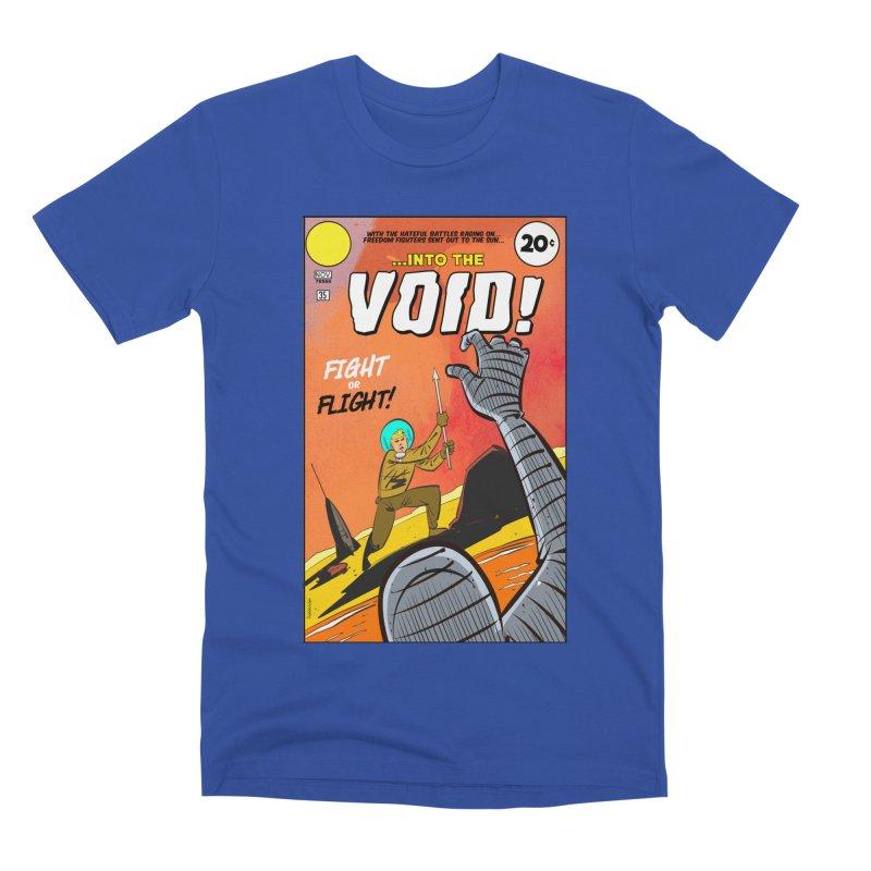 Into the Void Men's Premium T-Shirt by Krishna Designs