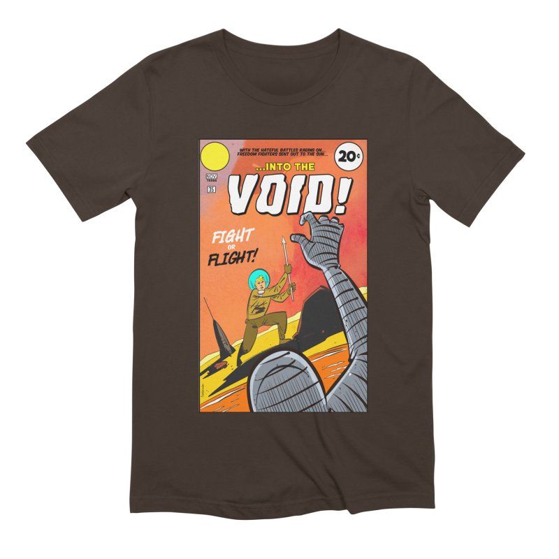 Into the Void Men's Extra Soft T-Shirt by Krishna Designs
