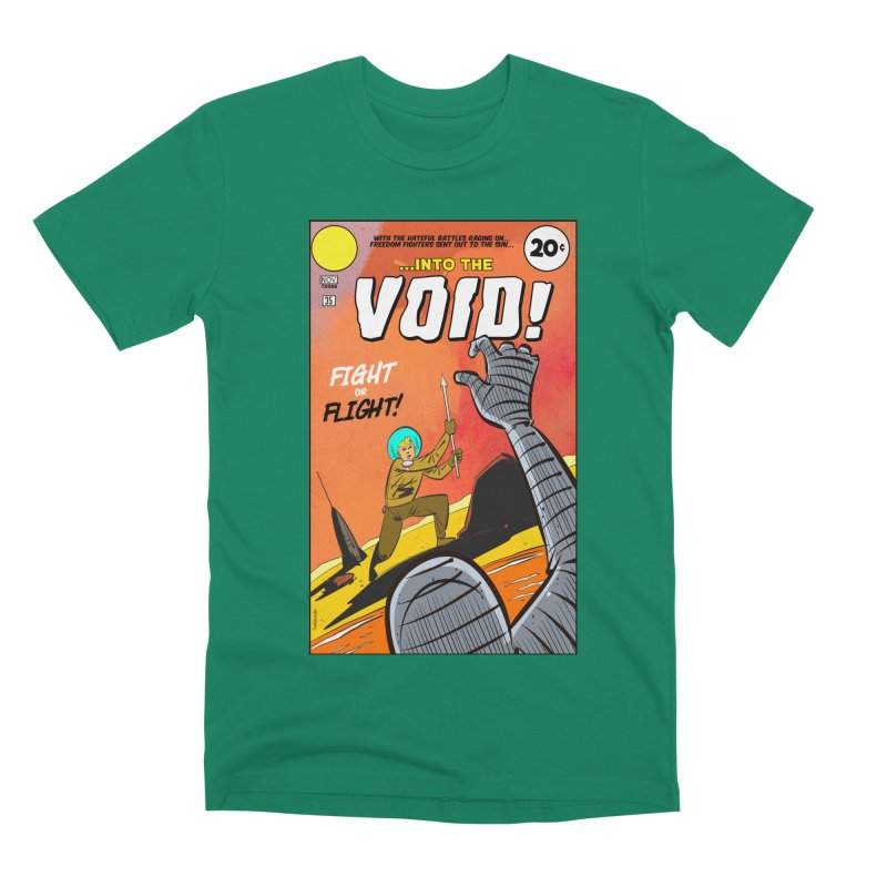 Into the Void Men's T-Shirt by Krishna Designs