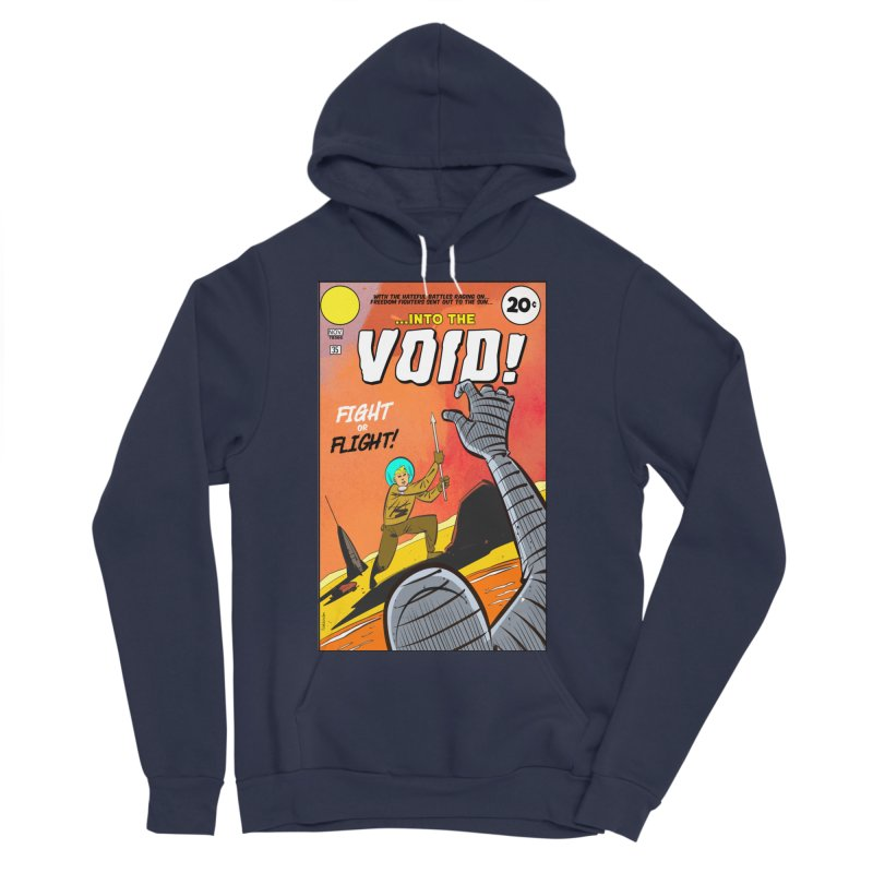 Into the Void Men's Sponge Fleece Pullover Hoody by Krishna Designs