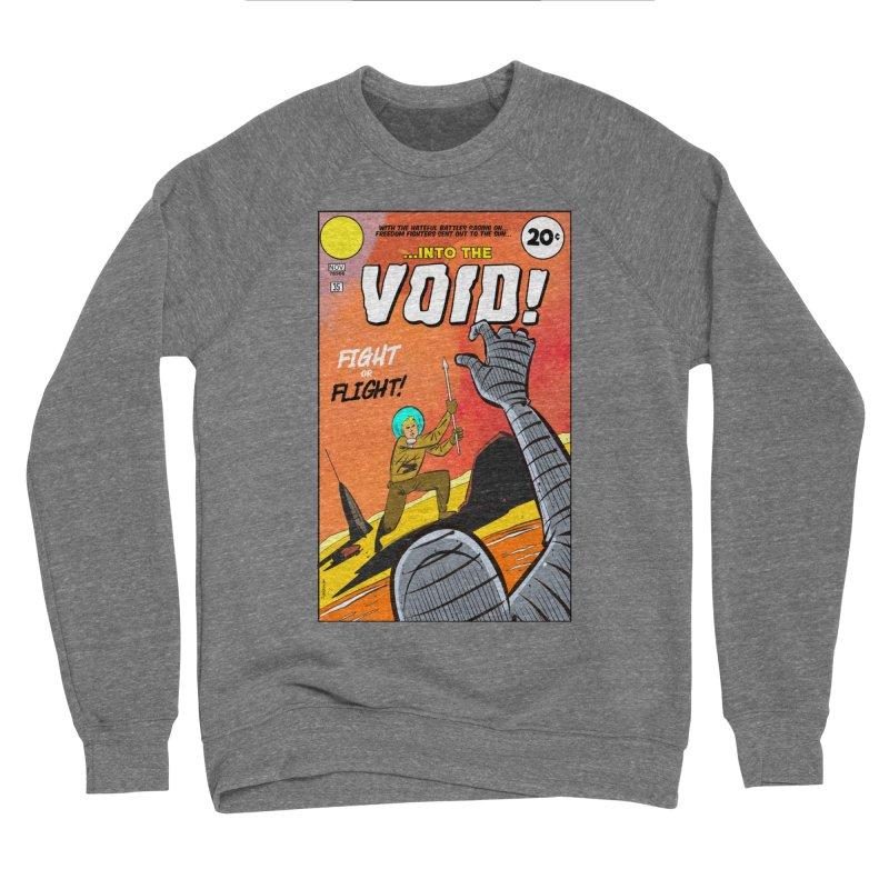 Into the Void Men's Sponge Fleece Sweatshirt by Krishna Designs