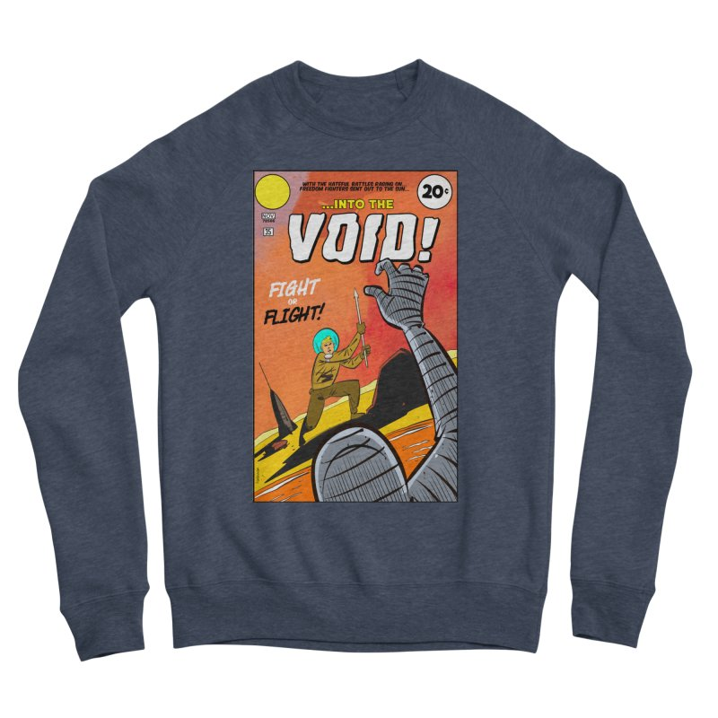 Into the Void Women's Sponge Fleece Sweatshirt by Krishna Designs
