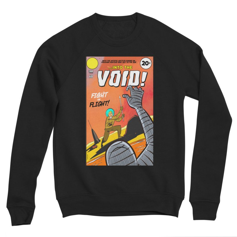 Into the Void Women's Sponge Fleece Sweatshirt by Krishna Designs