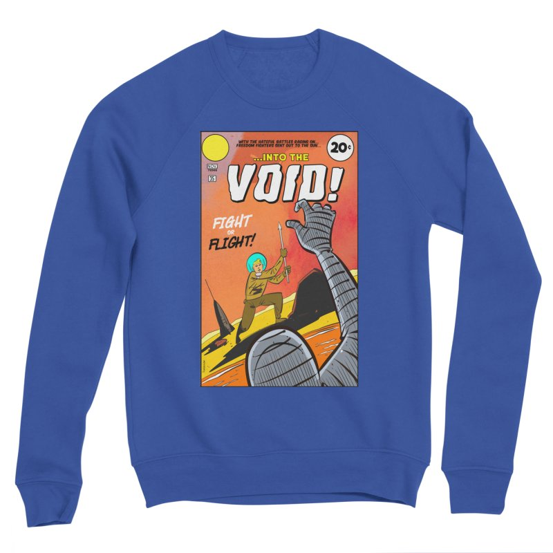 Into the Void Men's Sweatshirt by Krishna Designs