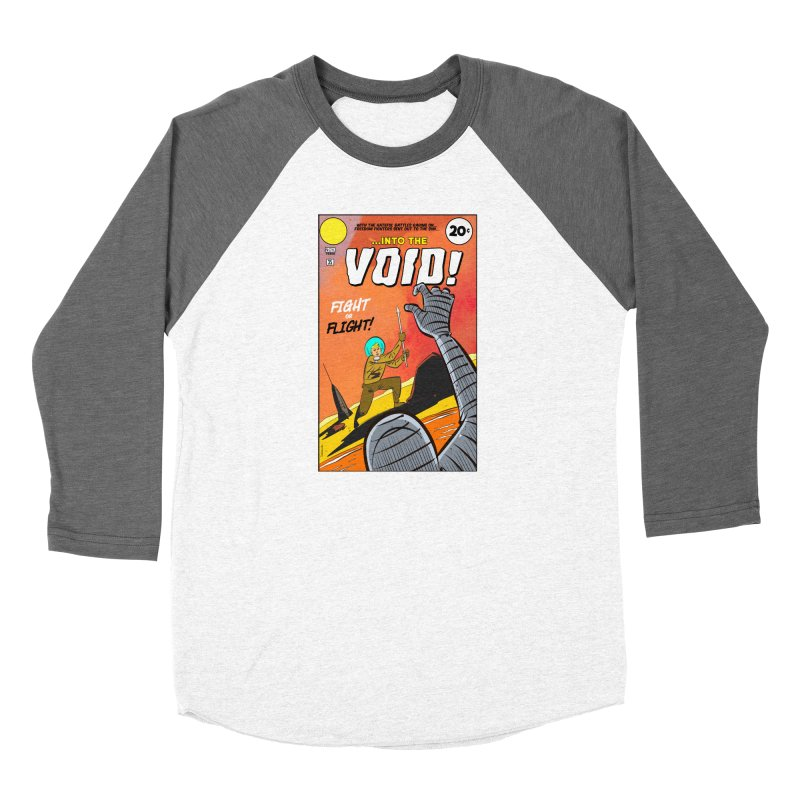 Into the Void Men's Baseball Triblend Longsleeve T-Shirt by Krishna Designs