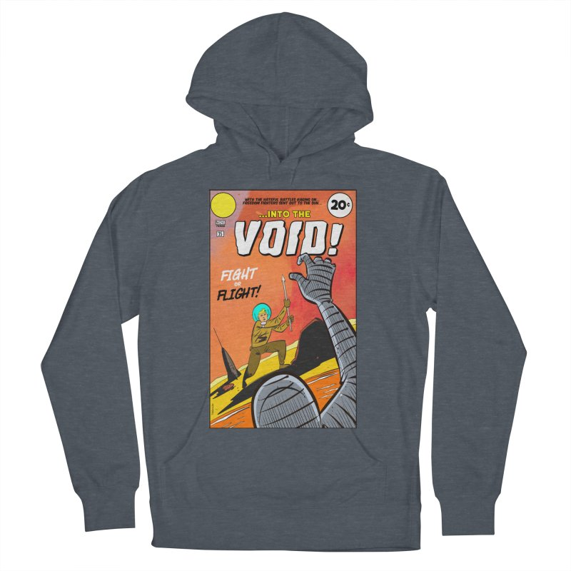 Into the Void Women's French Terry Pullover Hoody by Krishna Designs