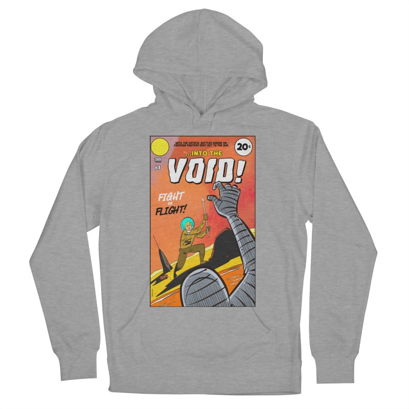Into the Void Men's French Terry Pullover Hoody by Krishna Designs