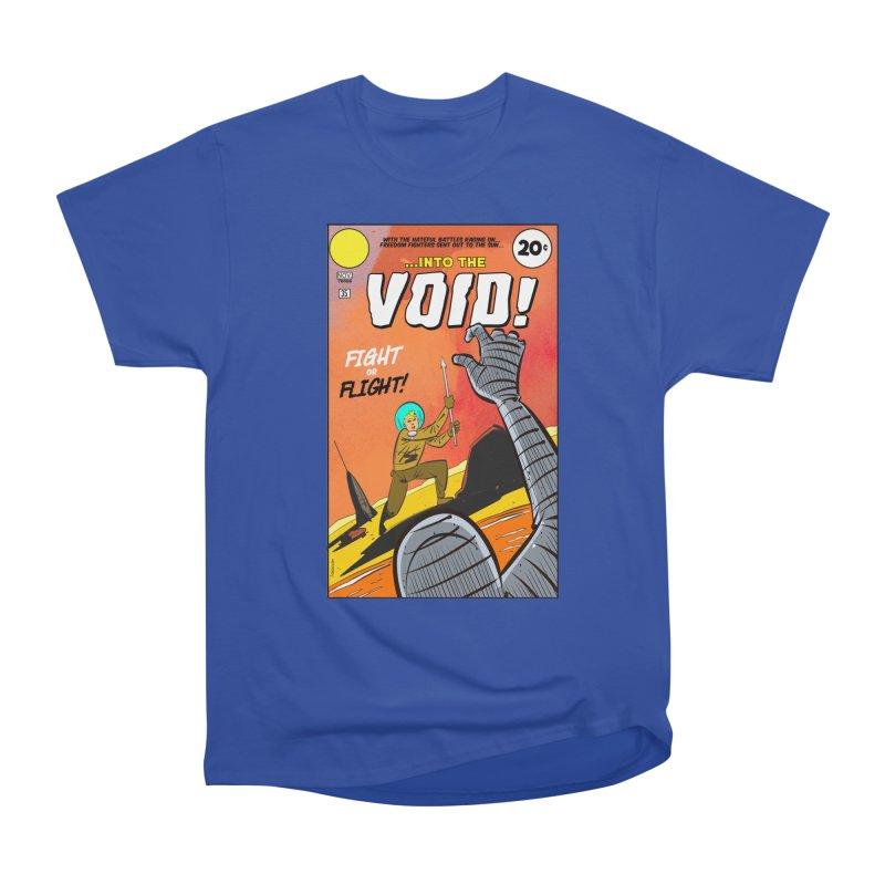Into the Void Women's Heavyweight Unisex T-Shirt by Krishna Designs