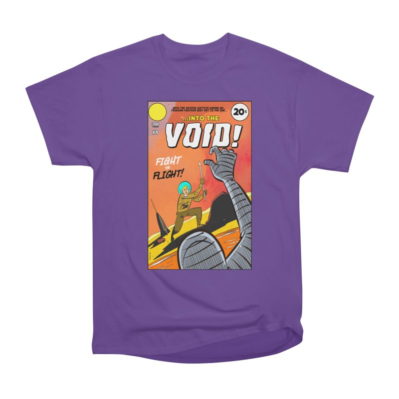 Into the Void Men's Heavyweight T-Shirt by Krishna Designs