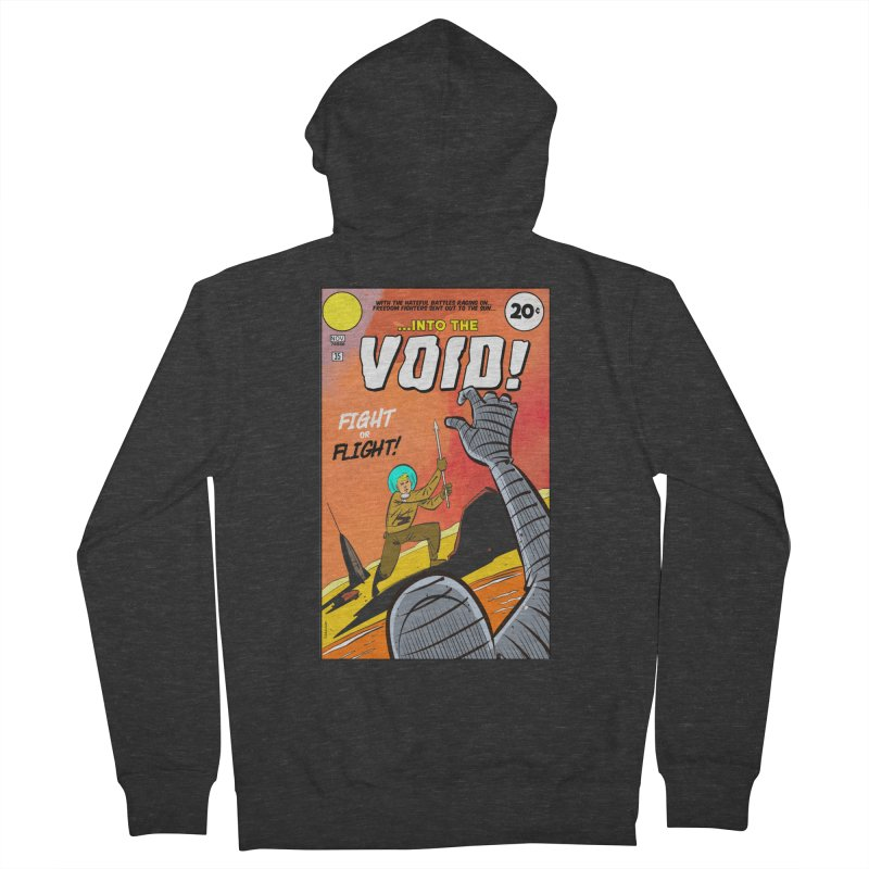 Into the Void Women's French Terry Zip-Up Hoody by Krishna Designs
