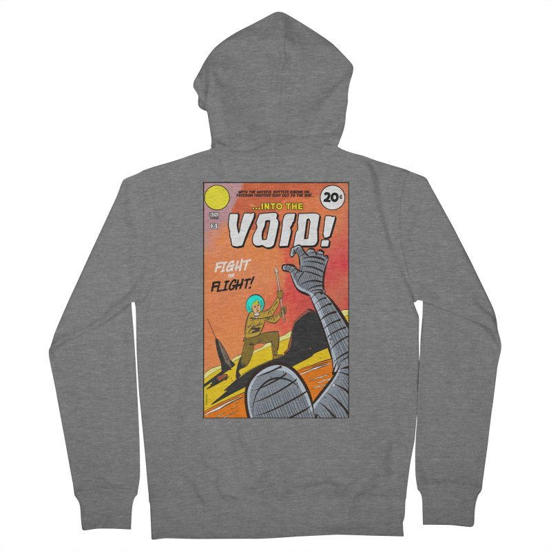 Into the Void Men's Zip-Up Hoody by Krishna Designs