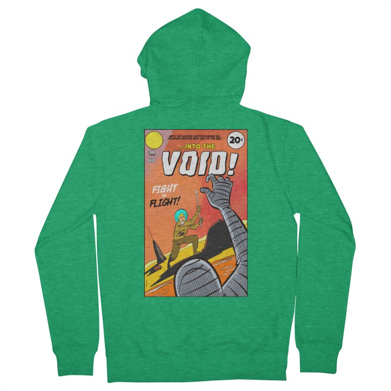 Into the Void Men's Zip-Up Hoody by Krishna Designs