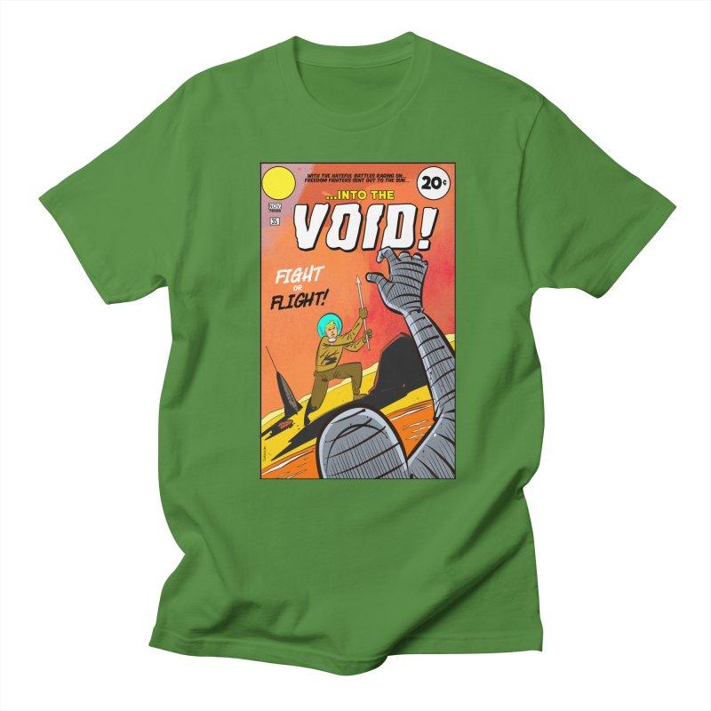 Into the Void Men's Regular T-Shirt by Krishna Designs