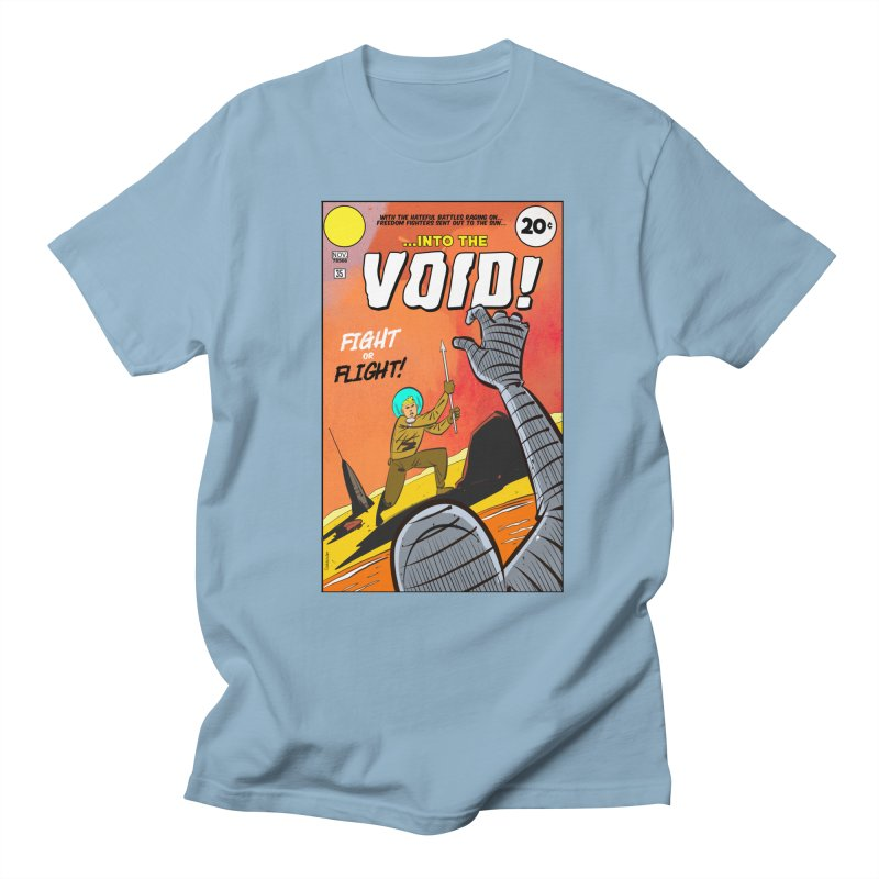 Into the Void Men's Regular T-Shirt by Krishna Designs