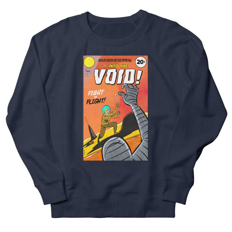 Into the Void Men's French Terry Sweatshirt by Krishna Designs