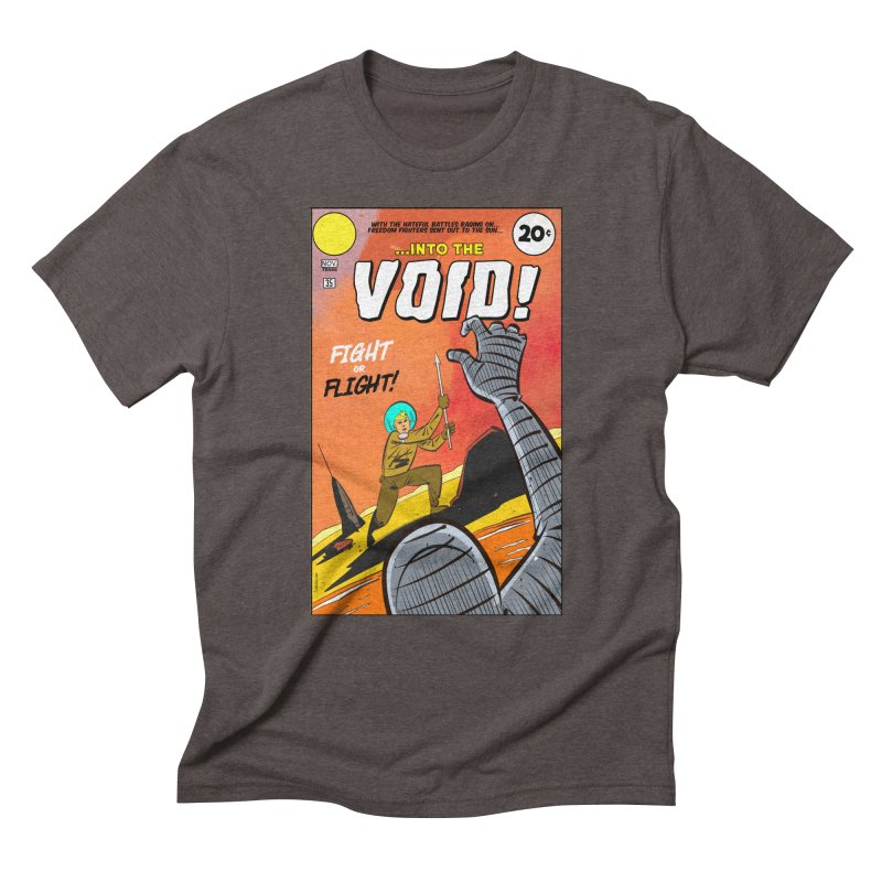 Into the Void Men's Triblend T-Shirt by Krishna Designs