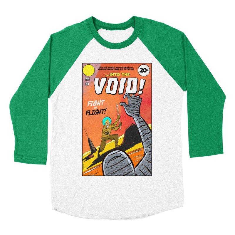 Into the Void Women's Baseball Triblend Longsleeve T-Shirt by Krishna Designs
