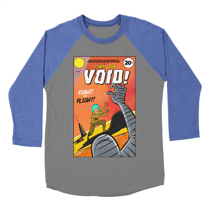 Into the Void Men's Baseball Triblend Longsleeve T-Shirt by Krishna Designs