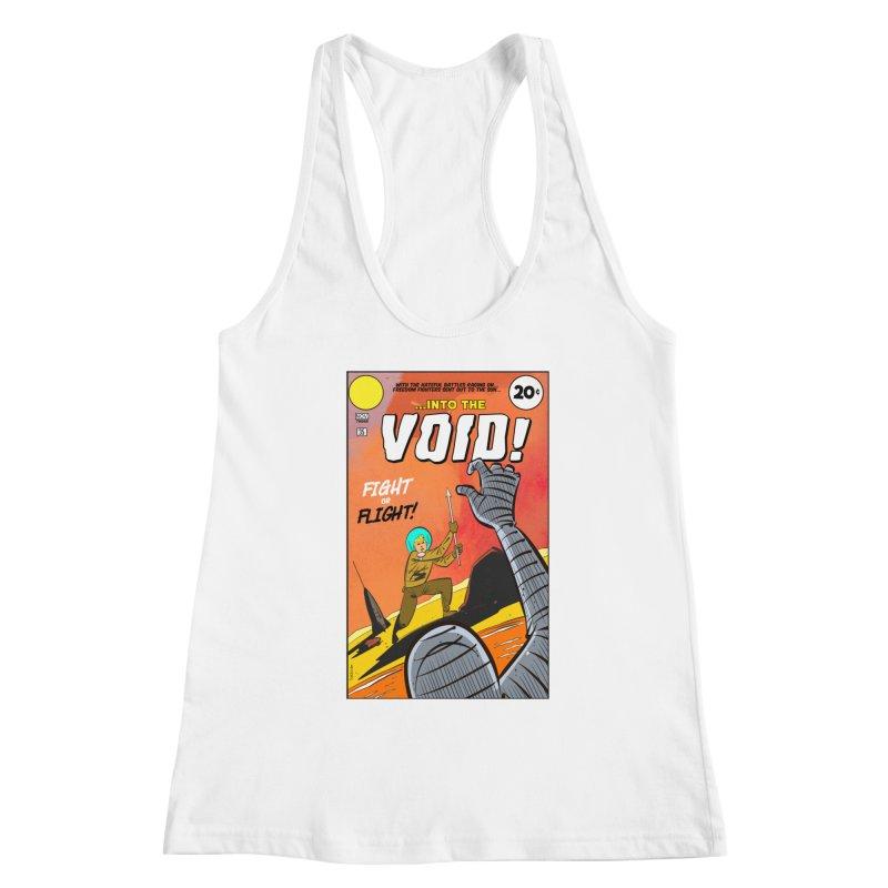 Into the Void Women's Racerback Tank by Krishna Designs