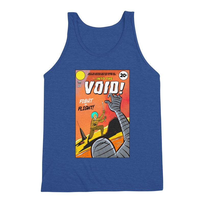 Into the Void Men's Tank by Krishna Designs