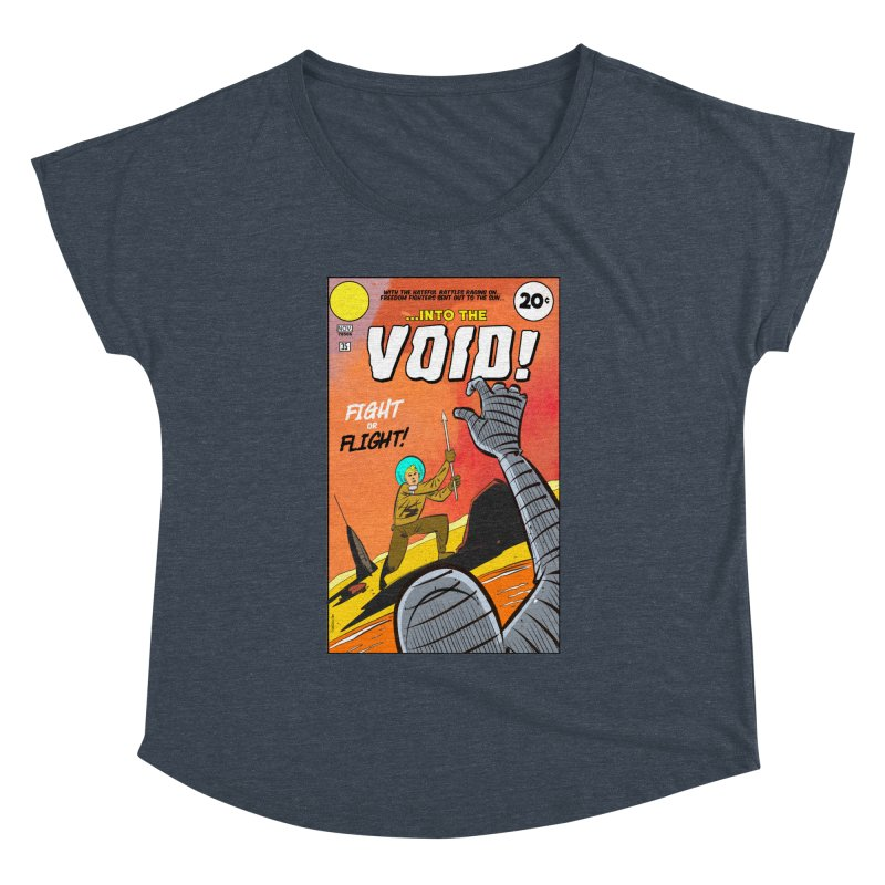 Into the Void Women's Dolman Scoop Neck by Krishna Designs