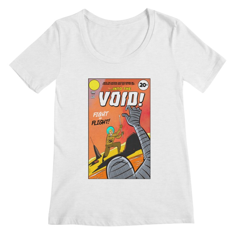 Into the Void Women's Scoop Neck by Krishna Designs