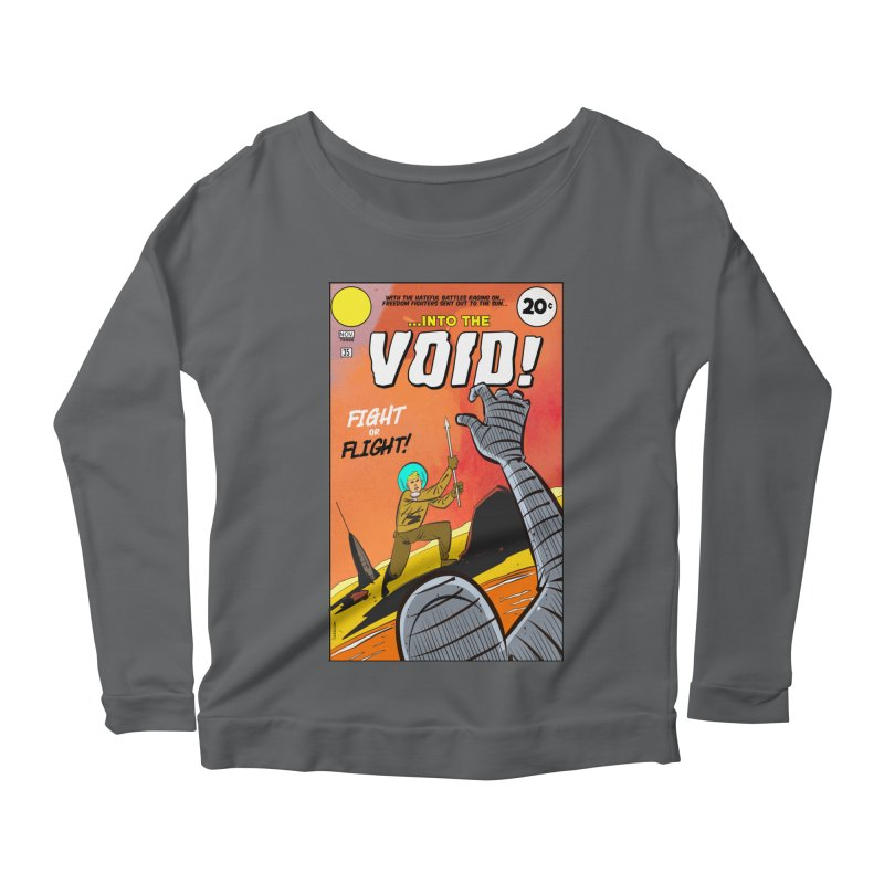 Into the Void Women's Scoop Neck Longsleeve T-Shirt by Krishna Designs