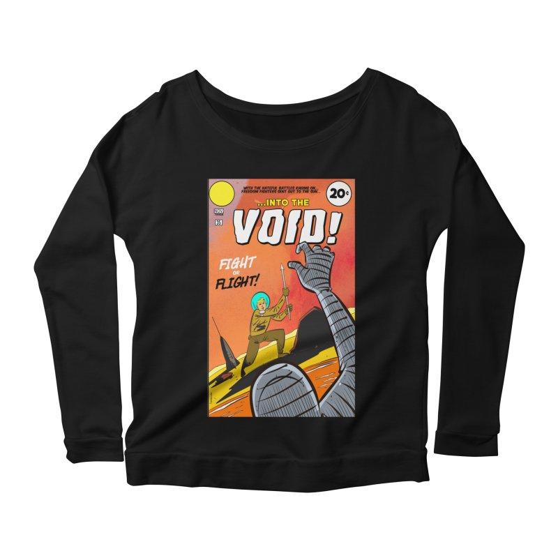 Into the Void Women's Scoop Neck Longsleeve T-Shirt by Krishna Designs