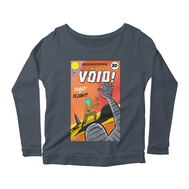 Into the Void Women's Longsleeve T-Shirt by Krishna Designs